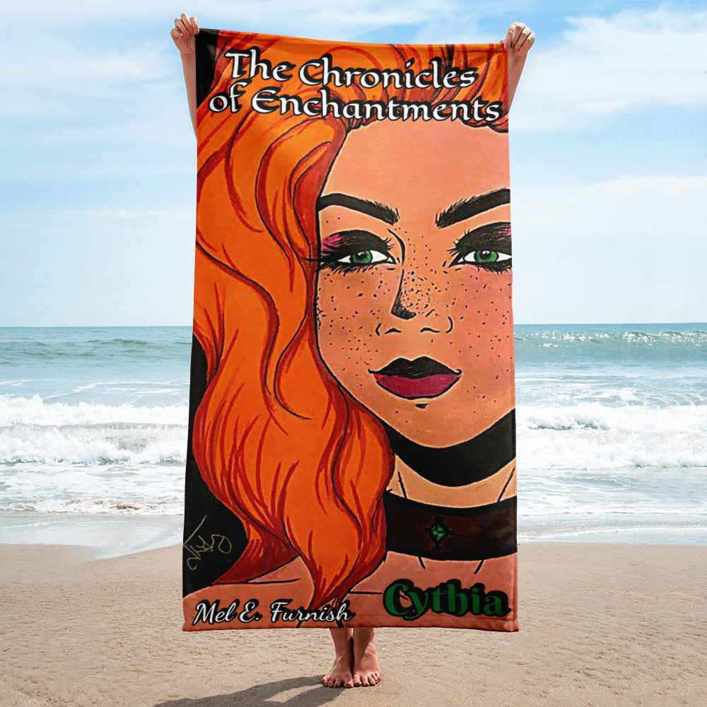 "Cythia - ""Fire"" - Beach Towel 2"