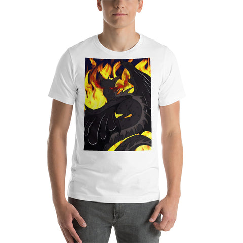 "Dragon Torrick - ""Flame"" - Short-Sleeve Unisex T-Shirt"