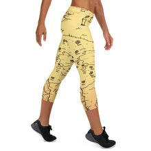 Load image into Gallery viewer, TCoE - Trindavin Map - Capri Leggings