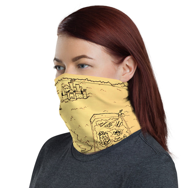 TCoE - Trindavin Map - Neck Gaiter