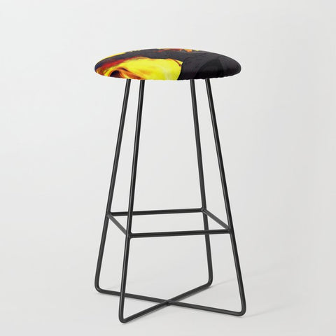"Dragon Torrick - ""Flame"" - Bar Stool"