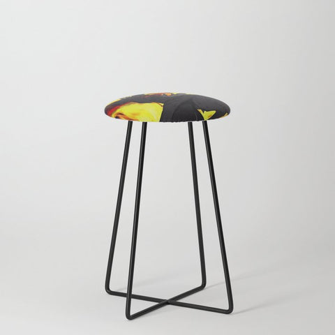 "Dragon Torrick - ""Flame"" - Counter Stool"