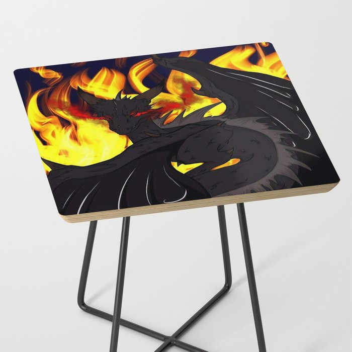 "Dragon Torrick - ""Flame"" - Side Table"
