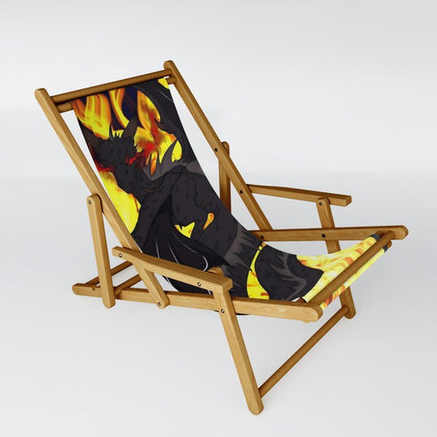 "Dragon Torrick - ""Flame"" - Sling Chair"