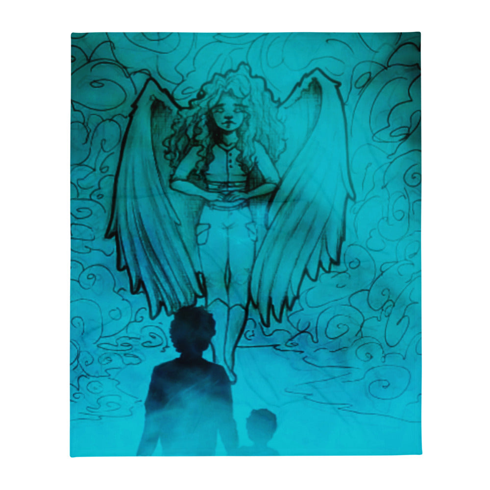 "TSoaGA -""Dark Angel Cythia ~ The Mist"" - Throw Blanket"