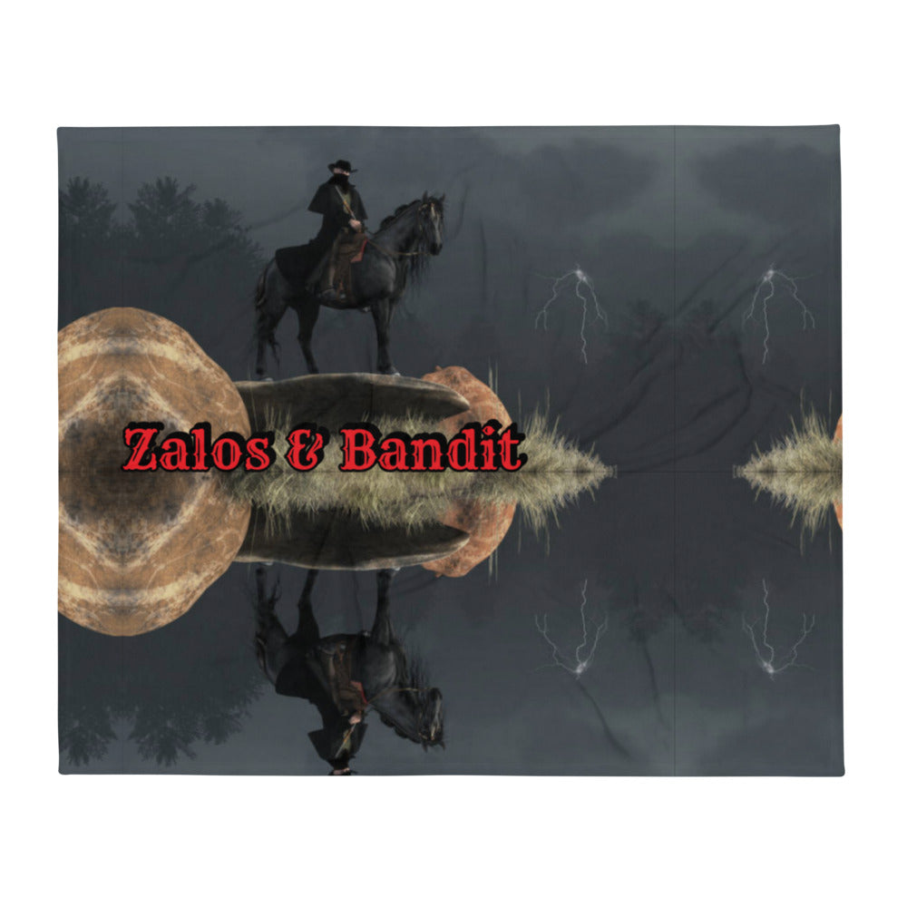 "SoS: ""Zalos & Bandit"" - Throw Blanket"