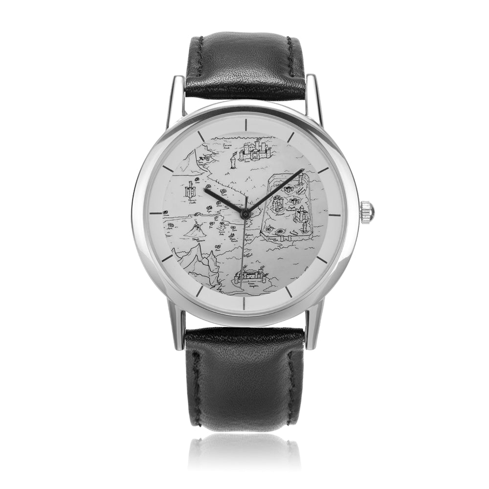 TCoE - Trindavin - Unisex Double-Layer Concise Dial Water-Resistant Quartz