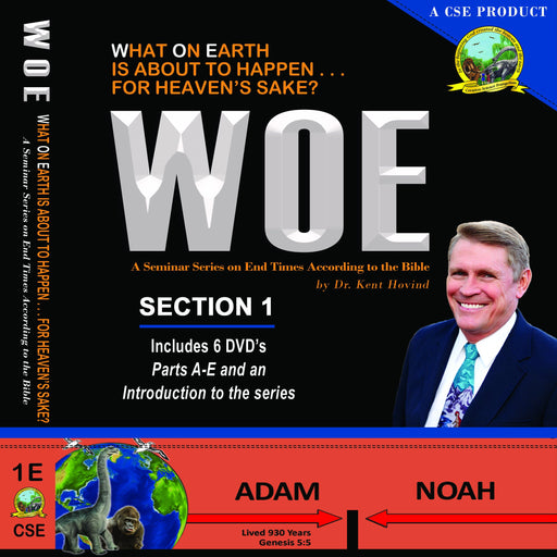 WOE DVD Series Section 1 Complete 2 Disc Set