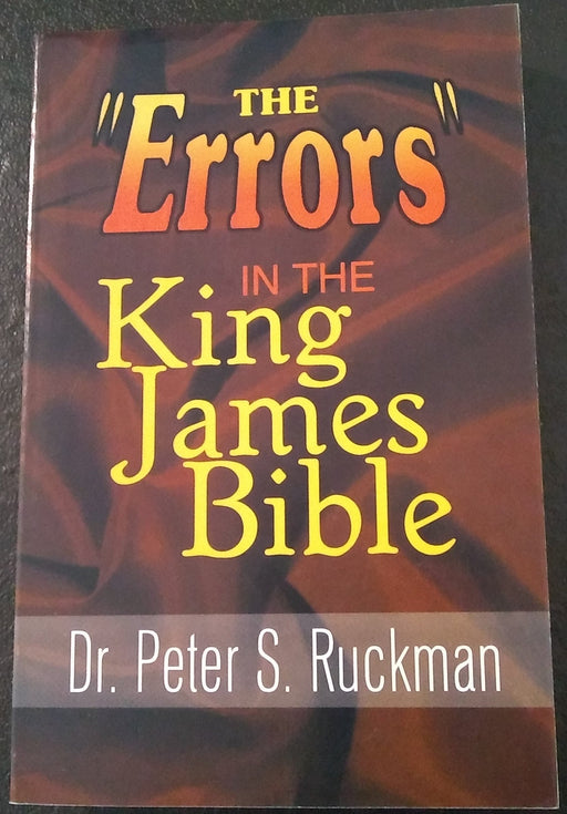Errors In The King James Bible