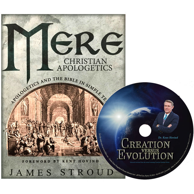 Mere Christian Apologetics and Creation vs Evolution (Book & DVD Bundle)