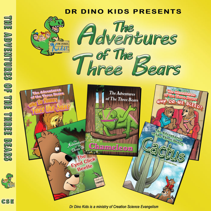 Children's Library: The Adventure of The Three Bears Collection
