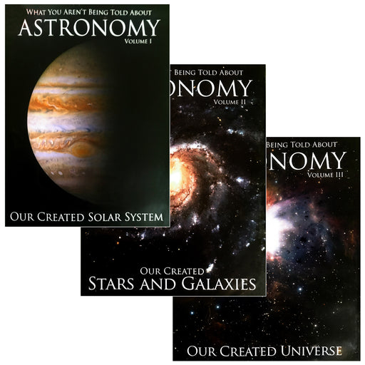 What You Aren't Being Told About Astronomy 3 Volume DVD Set by Spike Psarris