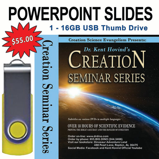 Creation Seminar Power Point Slides (USB Drive)