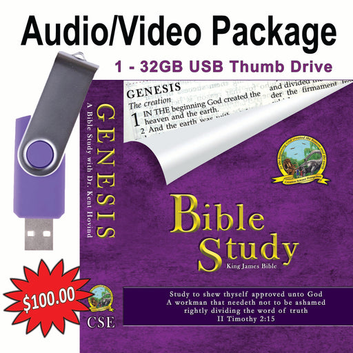 Bible Study Genesis - USB AV Pack
