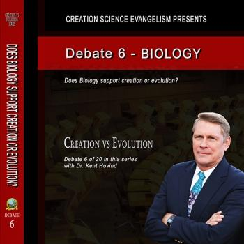 Debate Does Biology Support Creation or Evolution? - Creation Science Evangelism