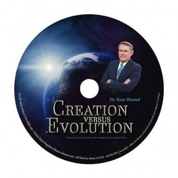 Creation Vs Evolution (DVD 25 Pack Of DVD Tracts) - Creation Science Evangelism
