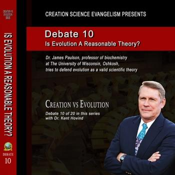 Debate Is Evolution A Reasonable Theory? - Creation Science Evangelism