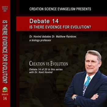 Debate Is There Evidence For Evolution? - Creation Science Evangelism
