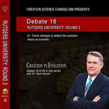 Debate Rutgers University Round 2 - Creation Science Evangelism