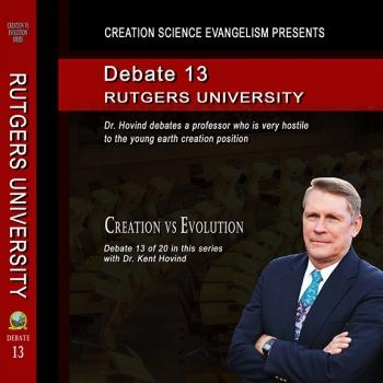 Debate Rutgers University Round 1 - Creation Science Evangelism