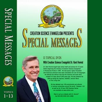 Special Messages: 13 Topics - Creation Science Evangelism