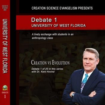 Debate University of West Florida - Creation Science Evangelism