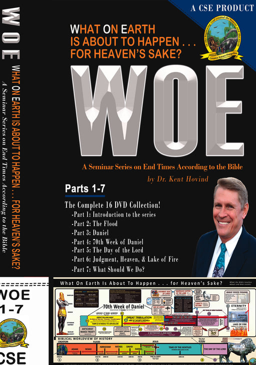WOE DVD Series Complete Set 1-7