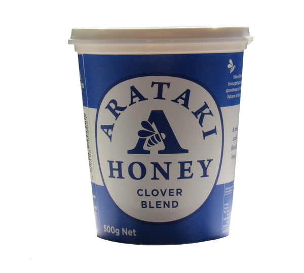 Arataki Clover honey blend 500gms tub