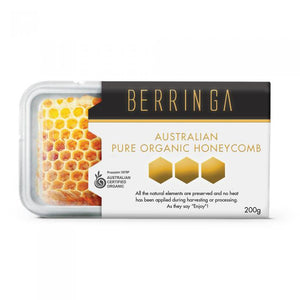 Berringa Pure Organic Honeycomb, 200gms