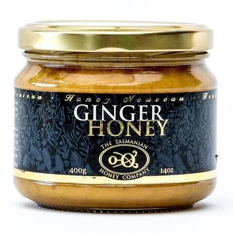 Ginger honey (Tasmanian Honey Company) 400gms jar