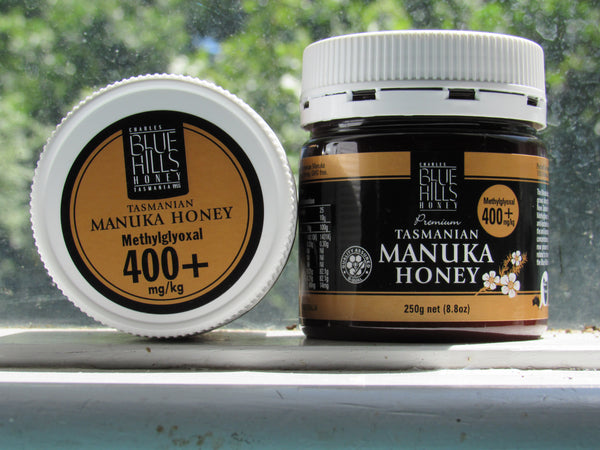 Manuka honey (400+), Blue Hills, Tasmanian