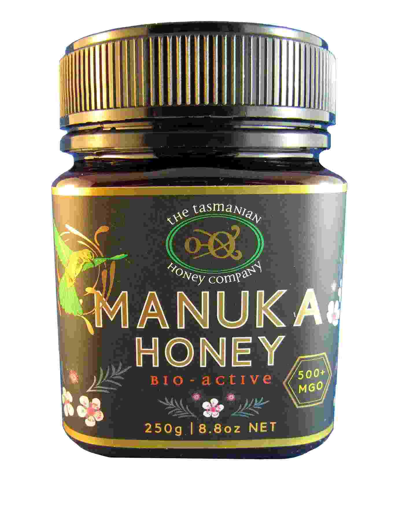 Tasmanian Manuka honey, 500plus, 250gms