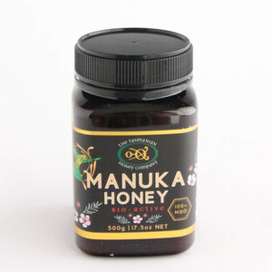 Manuka honey,  MGO 100+, Tasmanian Honey Company
