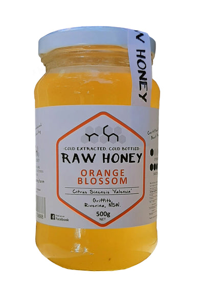 orange blossom honey liquid 500gms
