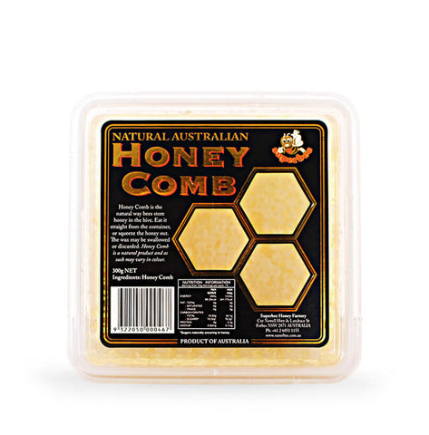 Honeycomb, Natural Australian, Superbee, 300gms