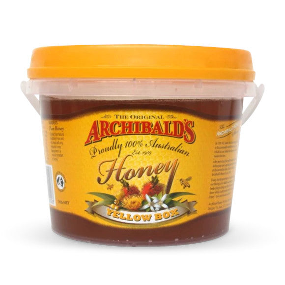 Archibalds yellow box honey 1kg