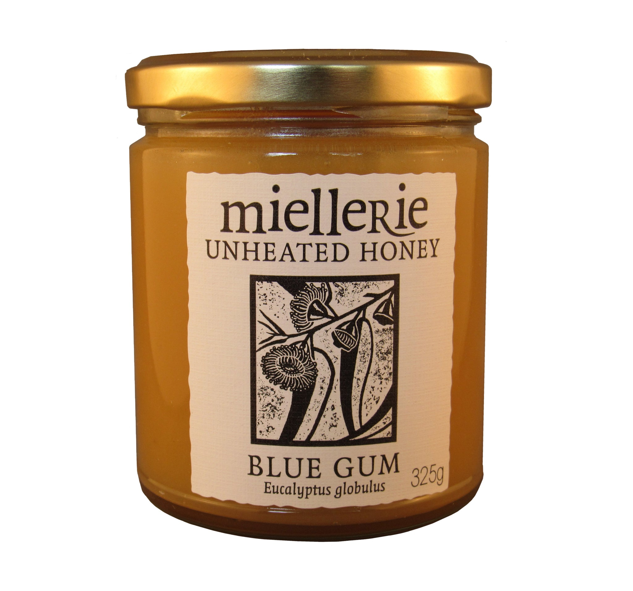 Blue Gum honey, Miellerie, Unheated, 325gms