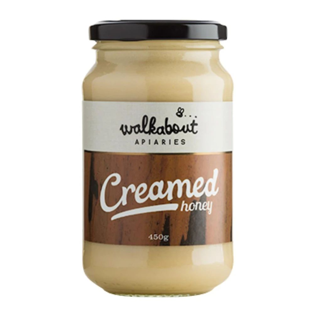 Creamed honey, 450gms, Walkabout