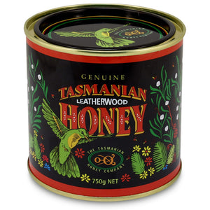Leatherwood honey, Tasmanian Honey Company, 750gms tin