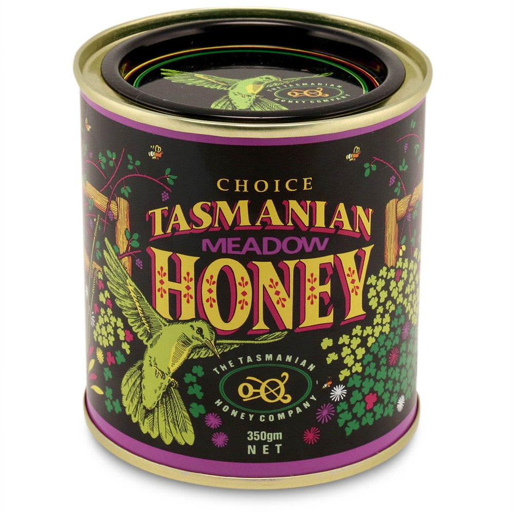 Meadow honey, Tasmanian, 350gms