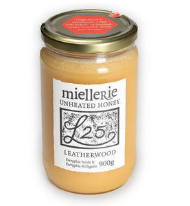 Leatherwood honey, Miellerie, Unheated, 900gms