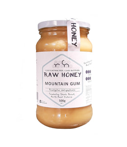 Raw mountain gum honey 500gms