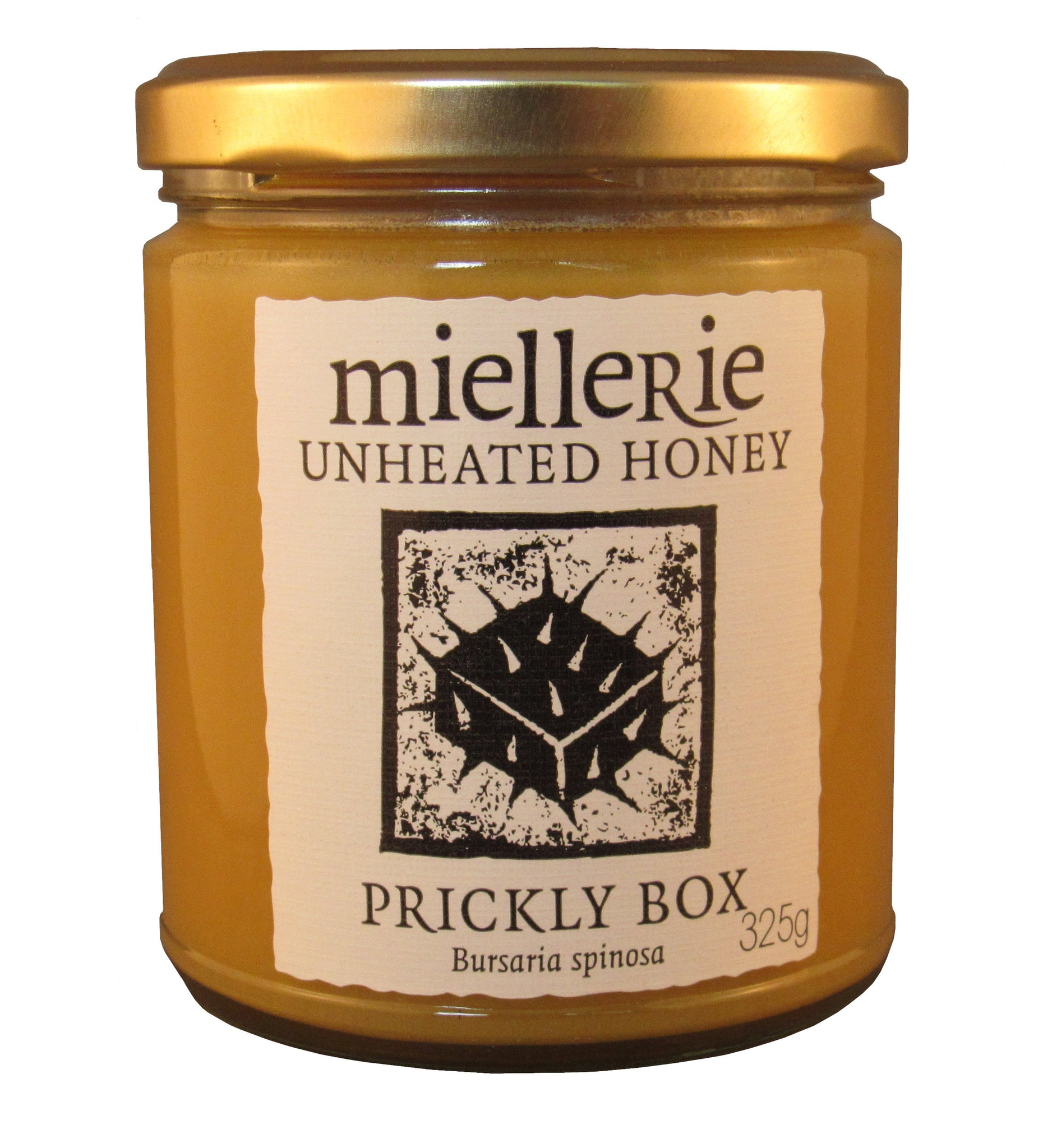 Prickly Box honey, Miellerie, Unheated, 325gms
