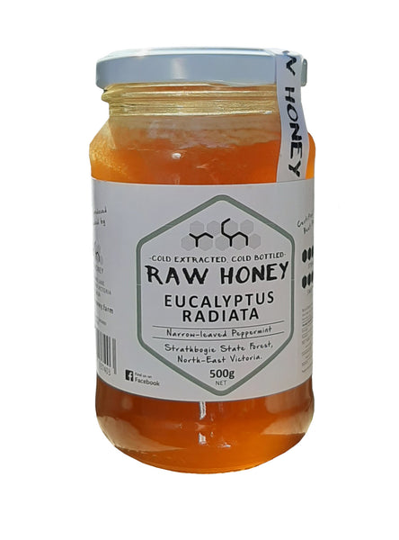 Eucalyptus radiata honey from the Raw honey company