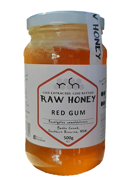Red gum honey _ Raw Honey Company _ 500gms
