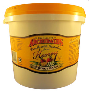 Archibalds Stringy Bark honey, 3kg