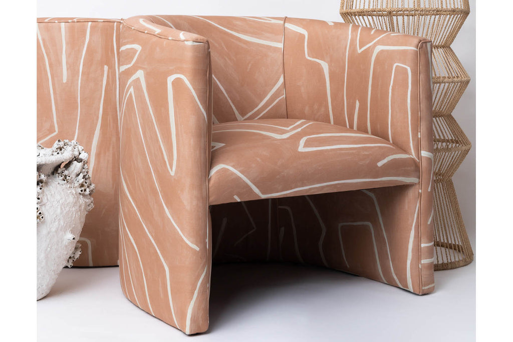 Bespoke Upholstery - Art Deco Arm Chairs