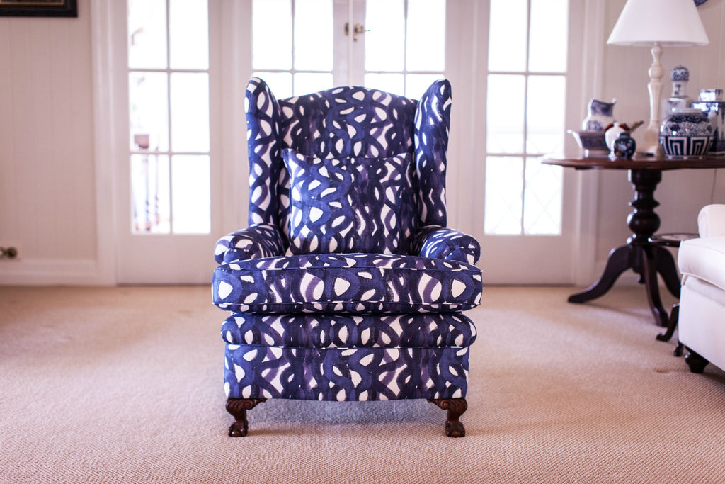 Bespoke Upholstery - Wing Chair