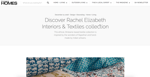Queensland Homes featuring Rachel Elizabeth Interiors & Textiles