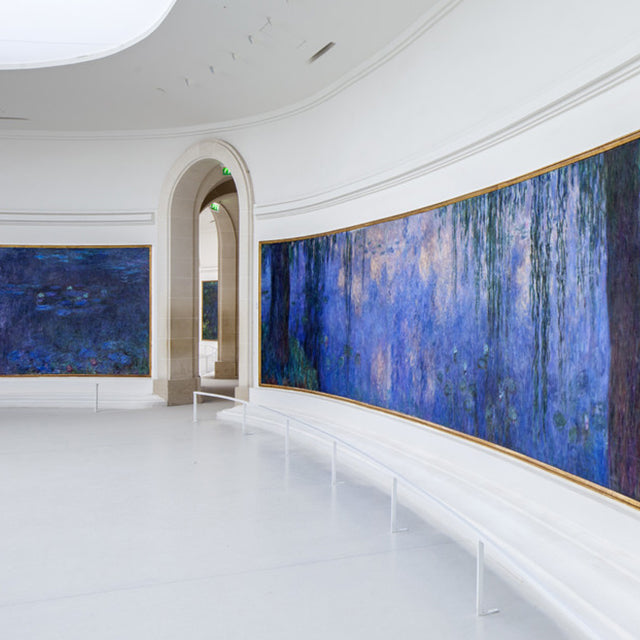 Musée de l'Orangerie in Paris. Blog by Rachel Elizabeth Interior Designers Brisbane
